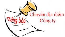 Thay đổi địa chỉ công ty tại Nghệ An