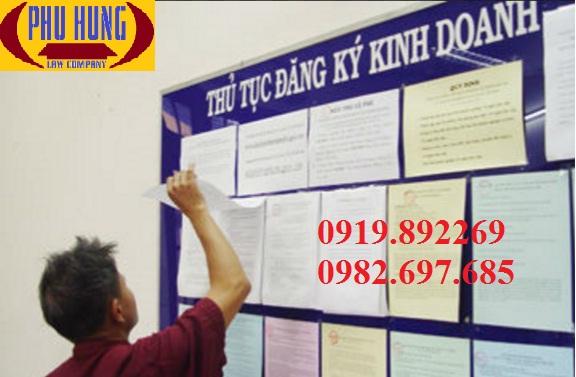 thủ tục đăng ký kinh doanh tại Nghệ An