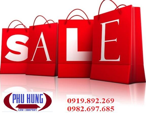 Thủ tục đăng ký chương trình bán hàng khuyến mãi