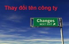 Thủ tục hồ sơ thay đổi tên công ty tại Nghệ An
