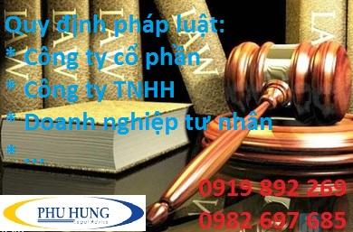 pháp luật quy định về công ty TNHH một thành viên tại Nghệ An