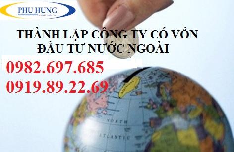Thành lập công ty có vốn đầu tư nước ngoài tại tỉnh nghệ an