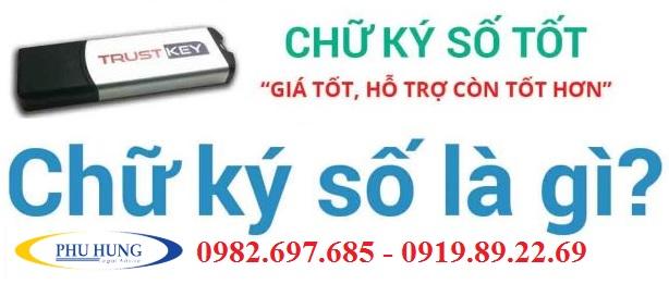 Dịch vụ cấp chữ ký số giá rẻ nghệ an