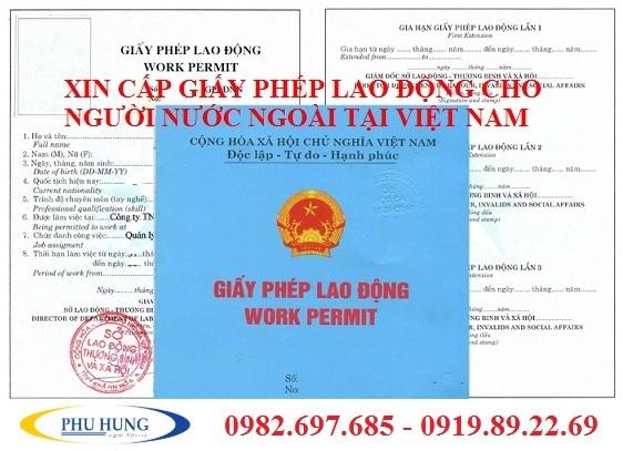 Giấy phép lao động cho người nước ngoài tại Nghệ An